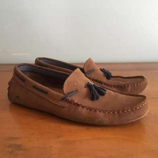 Lacoste Concours Tassel Loafer Driver Shoes US12