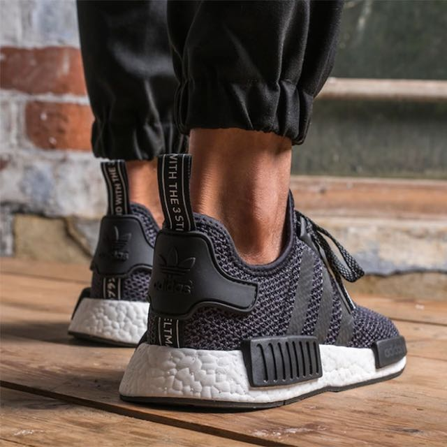 100% Authentic & New NMD R1 (black, Foot Locker exclusive