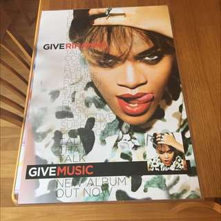 Rihanna Poster