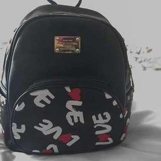 MCM Inspired Studded Bag