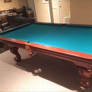 Professional Slate Pool Table