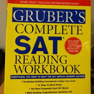Five SAT Prep Books