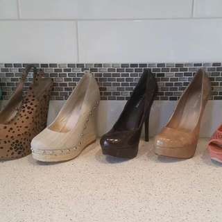 Heels And Wedges:New