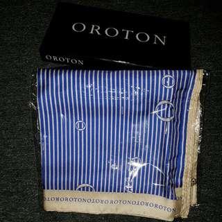 Oroton Stripe Scarf