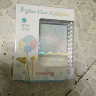 Brand New Canmake Glow Fleur Highlighter