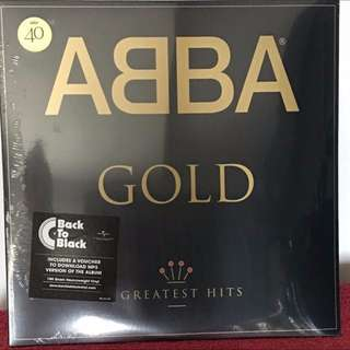 Abba Gold Greatest Hits. Vinyl Lp , New