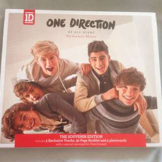 One Direction- Up All Night. The Souvenir Edition