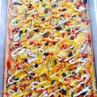 GIANT PIZZA 🍕