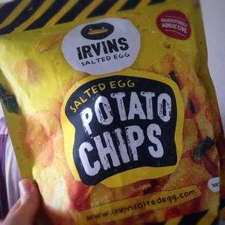 [RESERVED] Irvin's Salted Egg Potato Chips