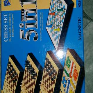 5 In 1 Chess Set