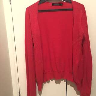Glassons Red Cardi