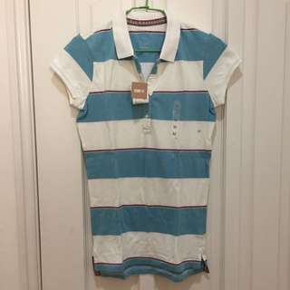Uniqlo條紋polo衫
