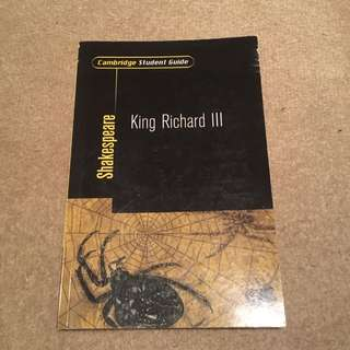 King Richard III STUDY GUIDE