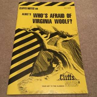"""Who's Afraid Of Virginia Woolf"" STUDY GUIDE"