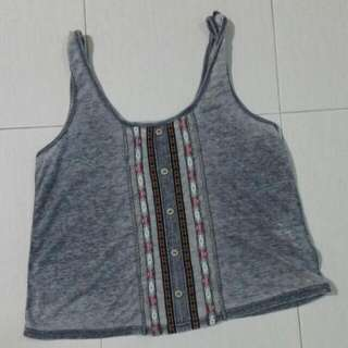 New Look's Cropped Tank Top
