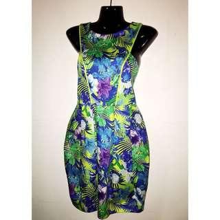 Liana Racer Back Print Dress
