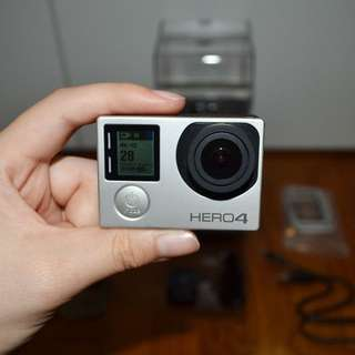 (Reserved) GoPro Hero 4 Silver