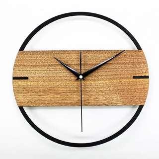 現條感工業風時鐘