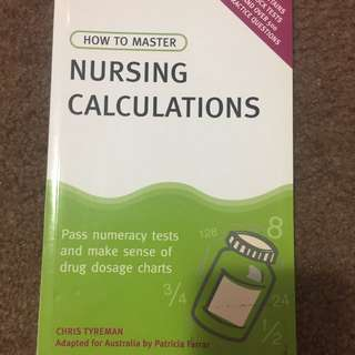 Nursing Calculation Book