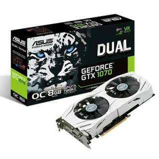 Like New Asus GTX 1070 8GB Dual