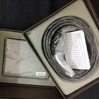 Alain Delon Dark Brown Wallet And Belt Gift Set