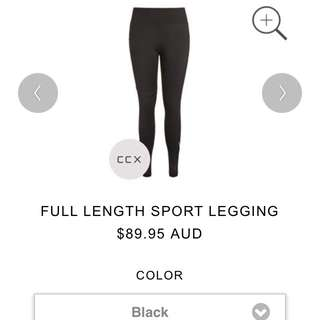 CCX work out leggings