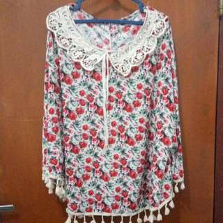 Outer Motif Red Rose