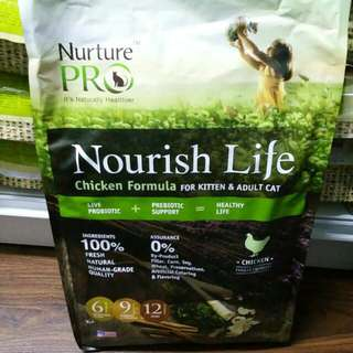 Nurture Pro Nourish Life 12lb - $65.00 / 2 For $120.00 With Repack & Free Delivery