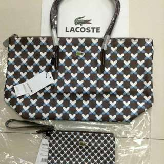 Lacoste Set With Wristlet