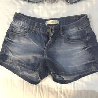 Zara Denim Shorts Size 36