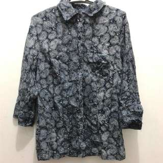 Paisley Patterned Ladies Polo