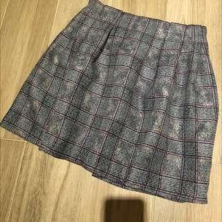 正韓質感條紋短裙 裙子