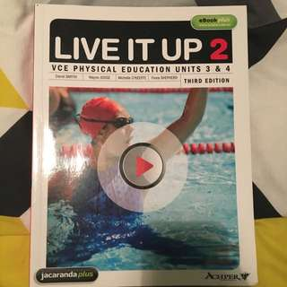 Live It Up 2: PE Text Book ( Year 12 )