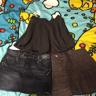 Winter Like New Skirts American Eagle Guess