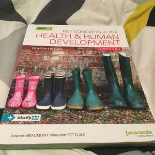 Health And Human Development ( Latest Edition)