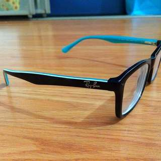 Ray Ban Glasses(Black And Blue)