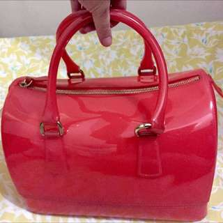 Preowned Authentic Furla Bag With Dustbag