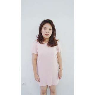 GAP Babypink Dress / Loose Shirt