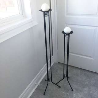 Candle Stands - Rod Iron (2)