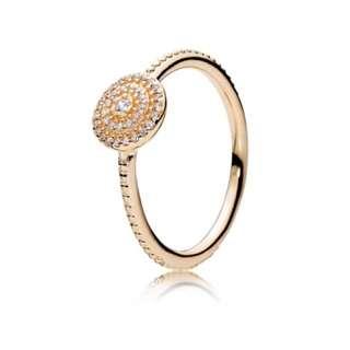 Pandora 14k Radiant Elegance Ring