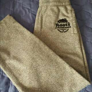 Roots sweatpants size Small