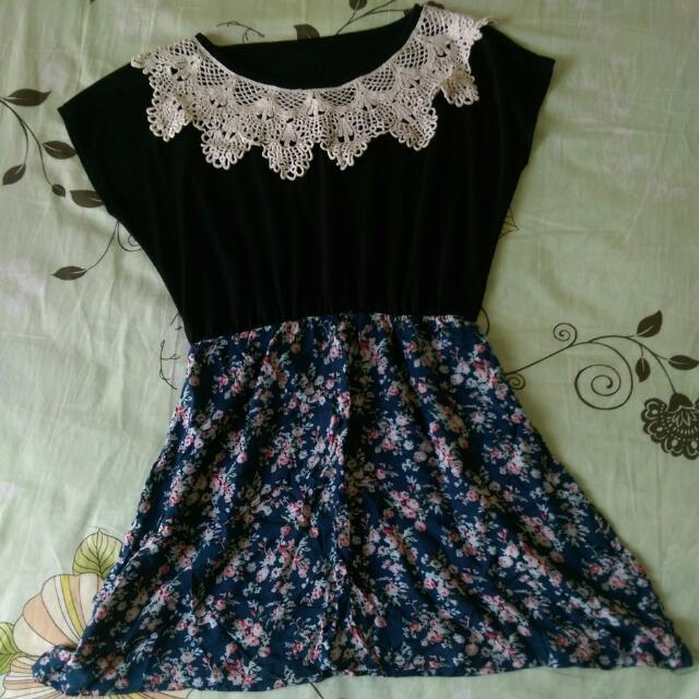 韓風縮腰氣質洋裝