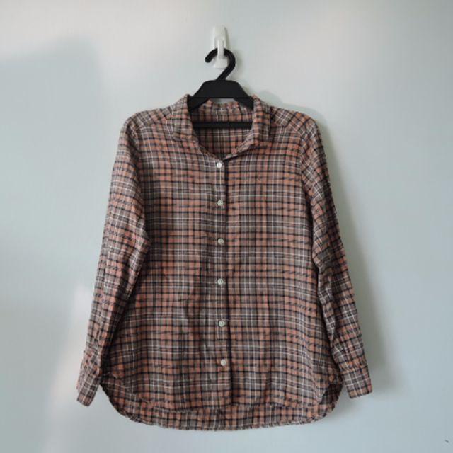 日本小品牌 法蘭絨經典格紋襯衫