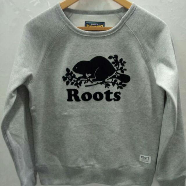 全新正品 roots專櫃同步女生的基本款大海狸上衣(黑色灰色)