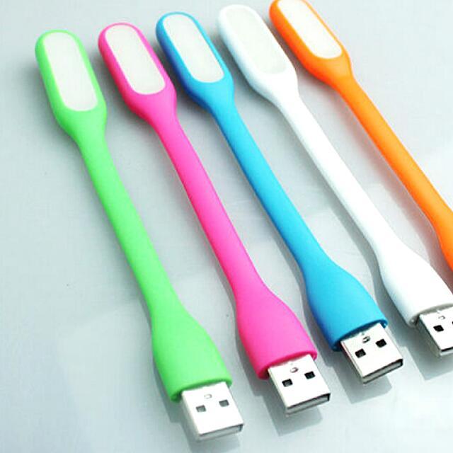 (綠)防水可折彎 USB LED小夜燈 #50元生活物品