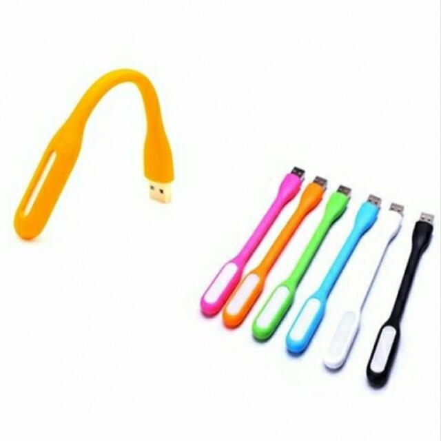 (粉紅)防水可折彎 USB LED小夜燈 #50元生活物品