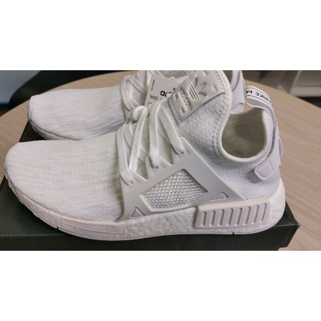 Adidas Nmd Xr1 Triple White Us 7 5 Men S Fashion Footwear On
