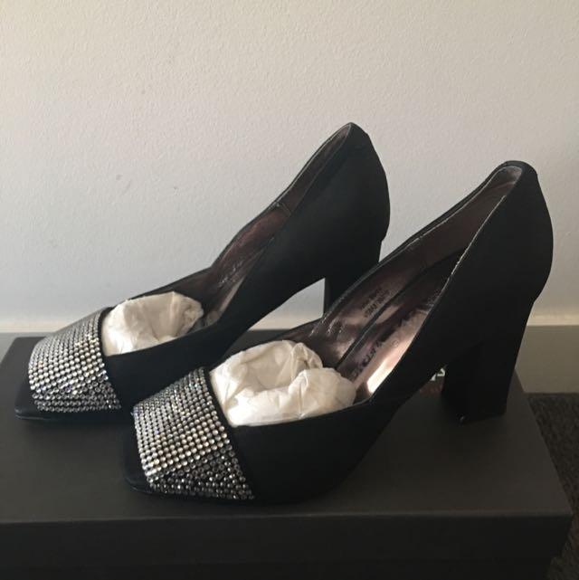 Almost New Black Heels