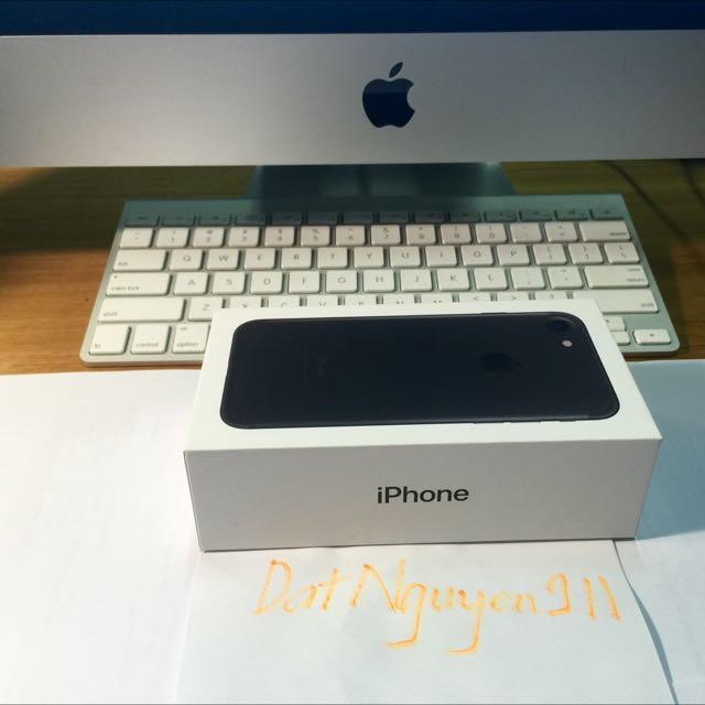 Apple IPhone 7 Matte Black 256gb