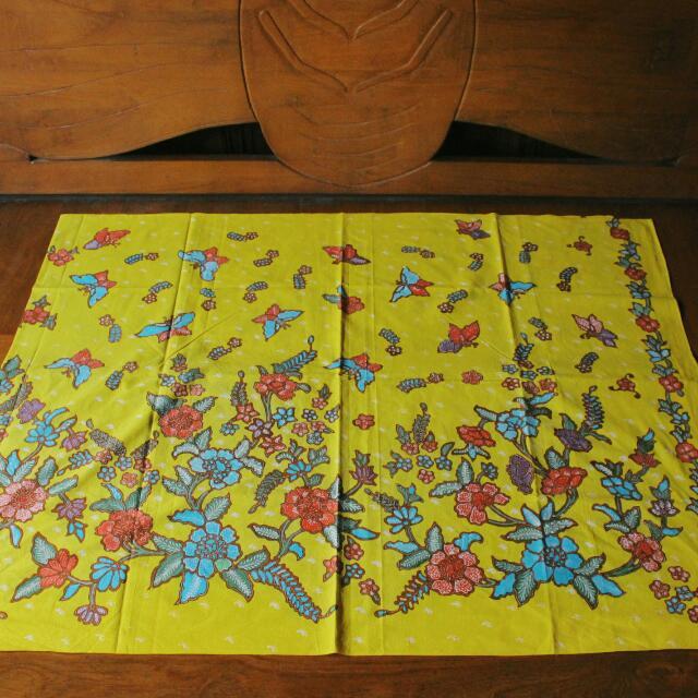 Batik Tulis Granitan Kembang